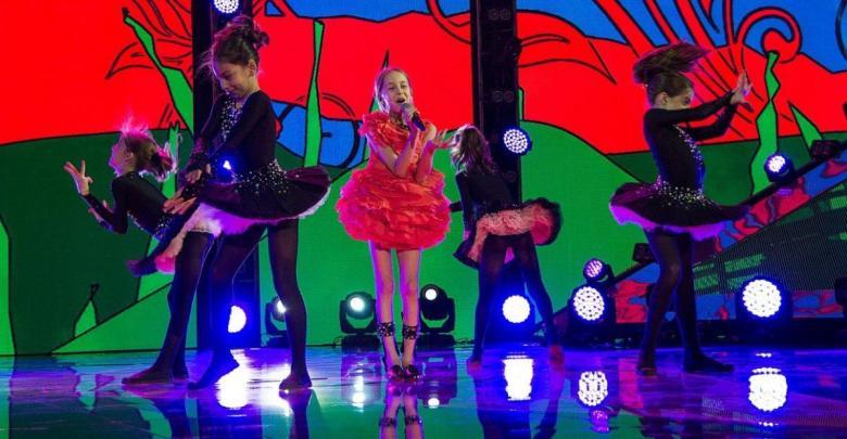 Lizi Pop at Junior Eurovision 2014