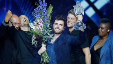 Photo of Duncan Laurence's Eurovision win awarded as Best TV Moment of 2019