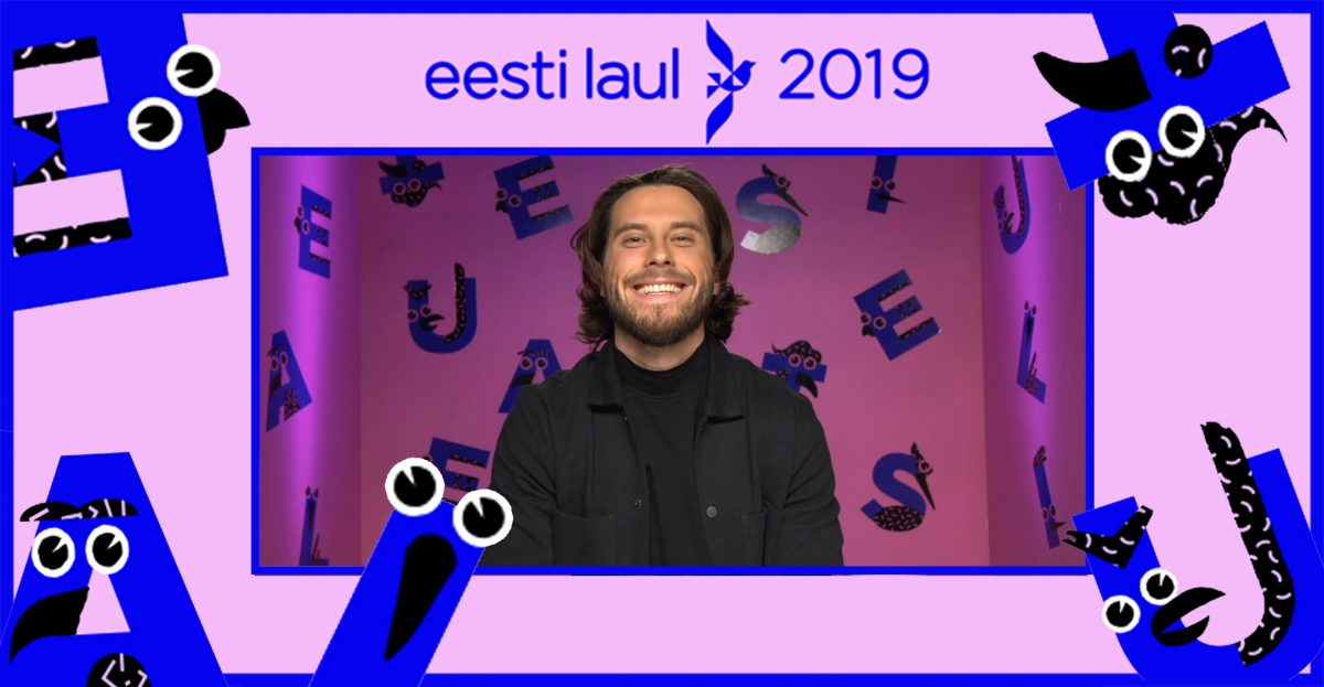 Victor Crone Eesti Laul 2019 promotional picture