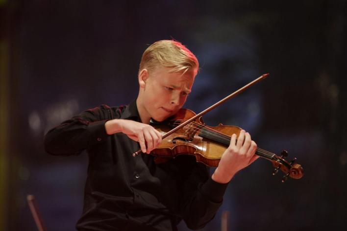 Ludvig Gudim at Eurovision Young Musicians 2016