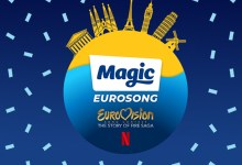 Photo of 🇬🇧 Magic Radio & Netflix launch pop up Magic Eurosong station