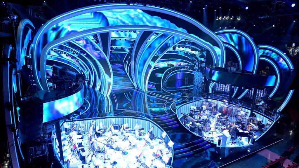 Sanremo 2020 stage design