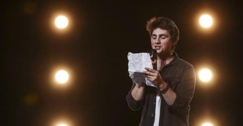 Pictured: Brendan Murray auditions on the second episode of The X Factor, series 15. Sunday 2nd September 2018.