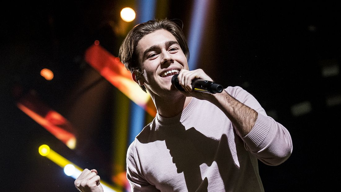 Benjamin Ingrosso in Melodifestivalen