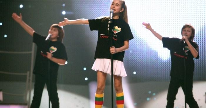 Junior Eurovision Lithuania Eglė Jurgaitytė