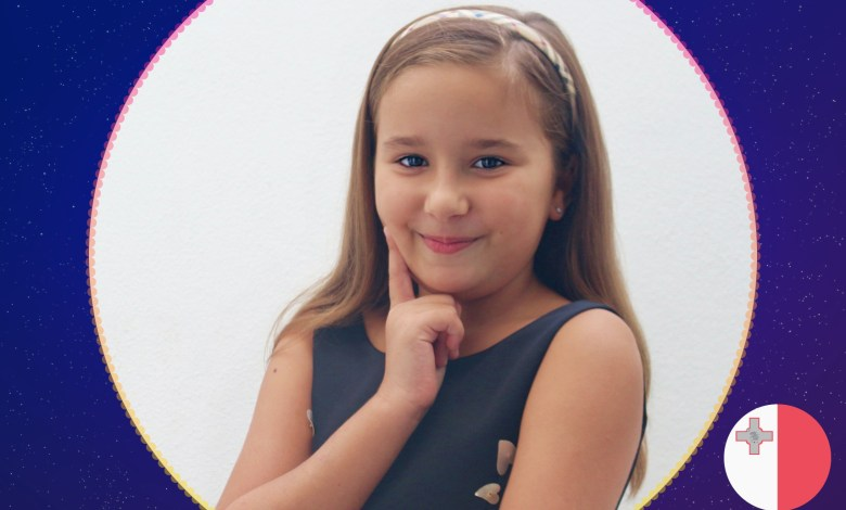 Chanel Monseigneur from Malta - Junior Eurovision Song Contest 2020