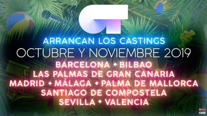Operación Triunfo 2019 castings