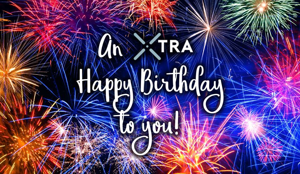 xtra happy birthday