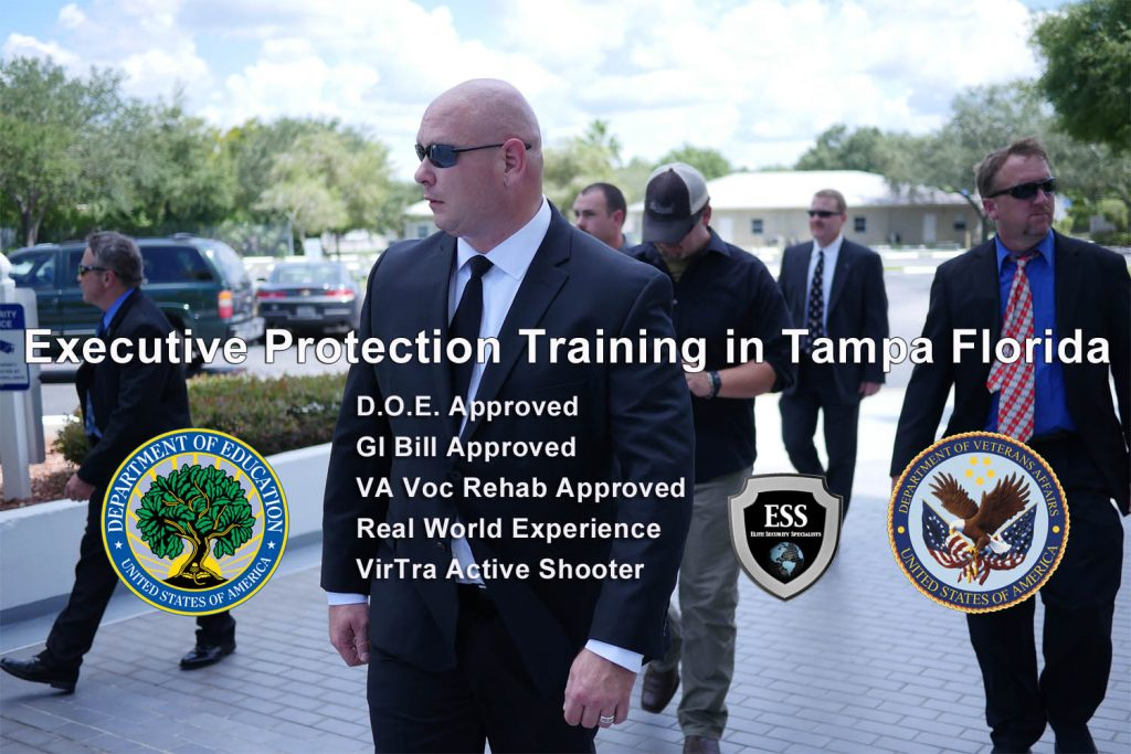 Executive Protection Certification Online