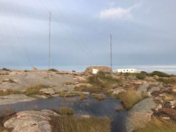 Kalns Kungshamnas centrā.