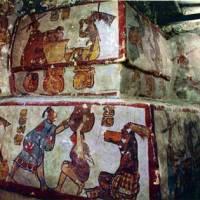 Descubren frescos Mayas que relatan sus costumbres de vida