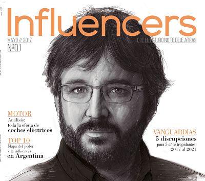 Portada Influencers revista 1