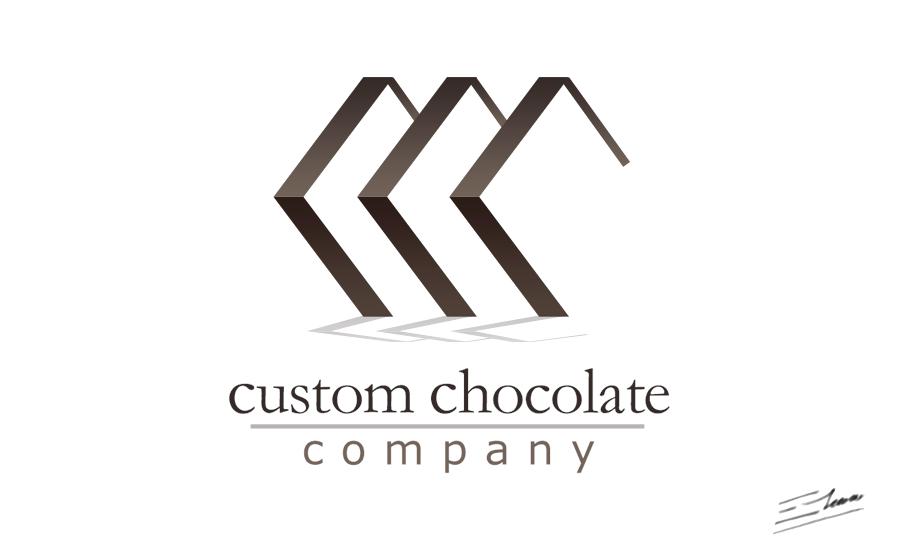 Professional logo design for Custom Chocolate Company