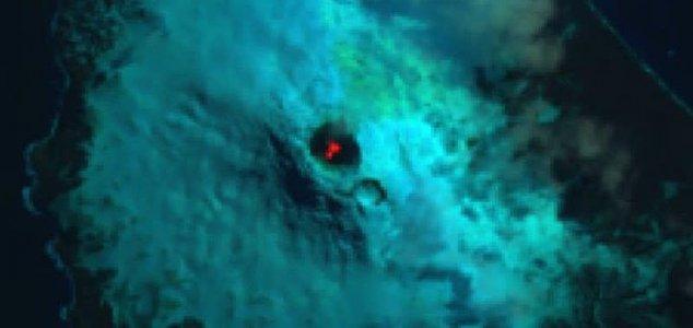 Lago de lava muito raro descoberto em ilha remota