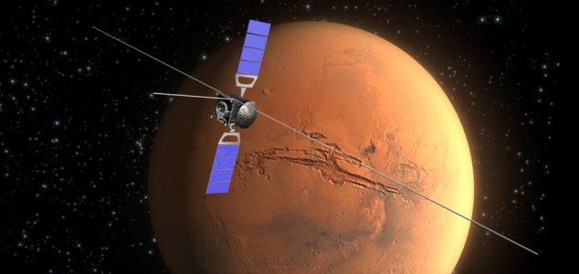 Três lagos encontrados sob a superfície de Marte.