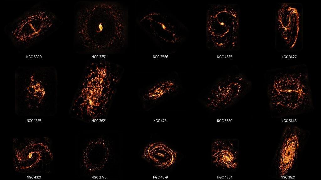 100.000 galaxias mapeadas em pesquisa inédita