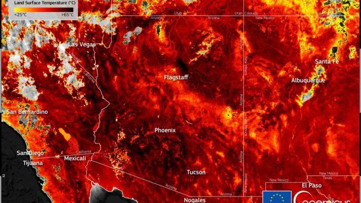 Junho de 2021 bateu recordes de calor na América do Norte.