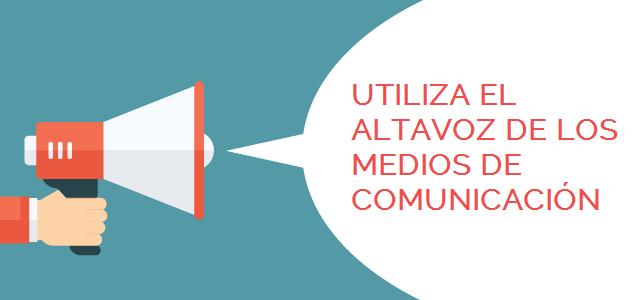 Medios de comunicación como altavoces-MadridNYC