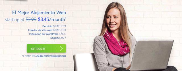 banner alojamiento web bluehost - Teresa Alba - MadridNYC