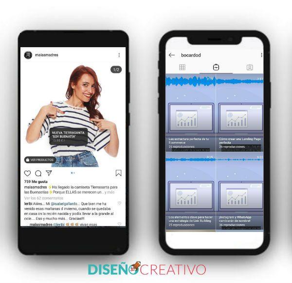 más opciones para hacer marketing en Instagram