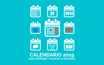 Imagen calendario de marketing 2019