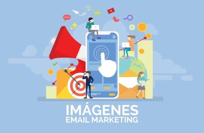 Imagen post imágenes en email marketing