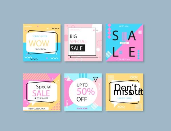 Tipos de banners impresos y digitales para hacer publicidad