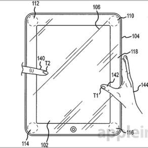 Patente Sensores de Presión Apple