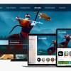 Imagen promocional de Apple Arcade, mostrando un iPhone, un iPad, un Apple TV y un Macbook