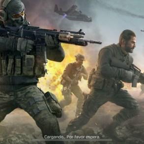 Pantalla de carga de Call of Duty Mobile para iPhone