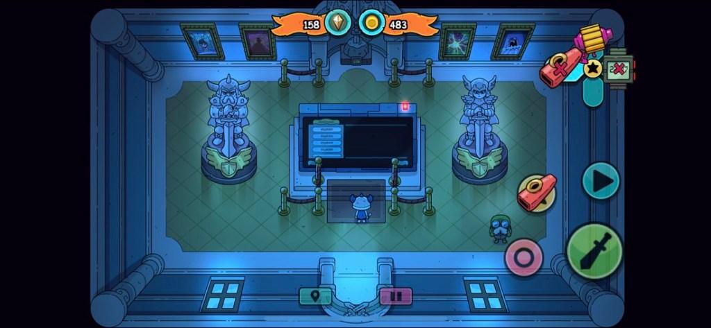 Captura de pantalla del juego Sword of Ditto para iPhone