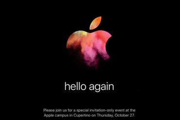 Evento Apple Hello Again