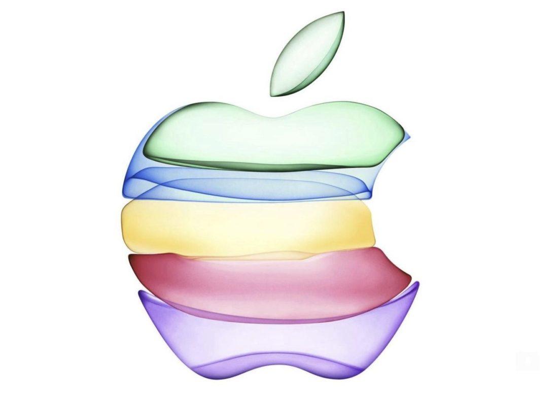 Logo Apple Manzana multicolor