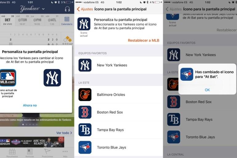 Iconos apps iOS 10.3 SDK para desarrolladores