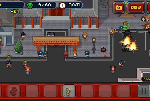 Imfectonator - juego de zombies en pixel art