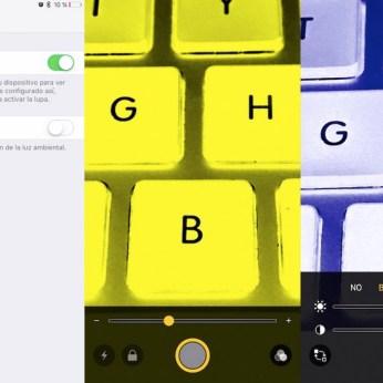 Modo Lupa iOS 10