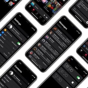 Dark mode iOS - Modo Oscuro iOS