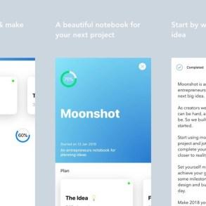 Moonshot iOS - app para gestión de proyectos