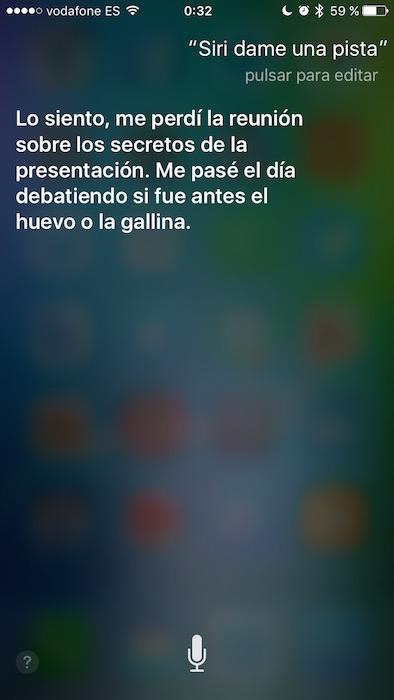 Pista Siri 3