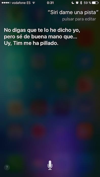 Pista Siri 4