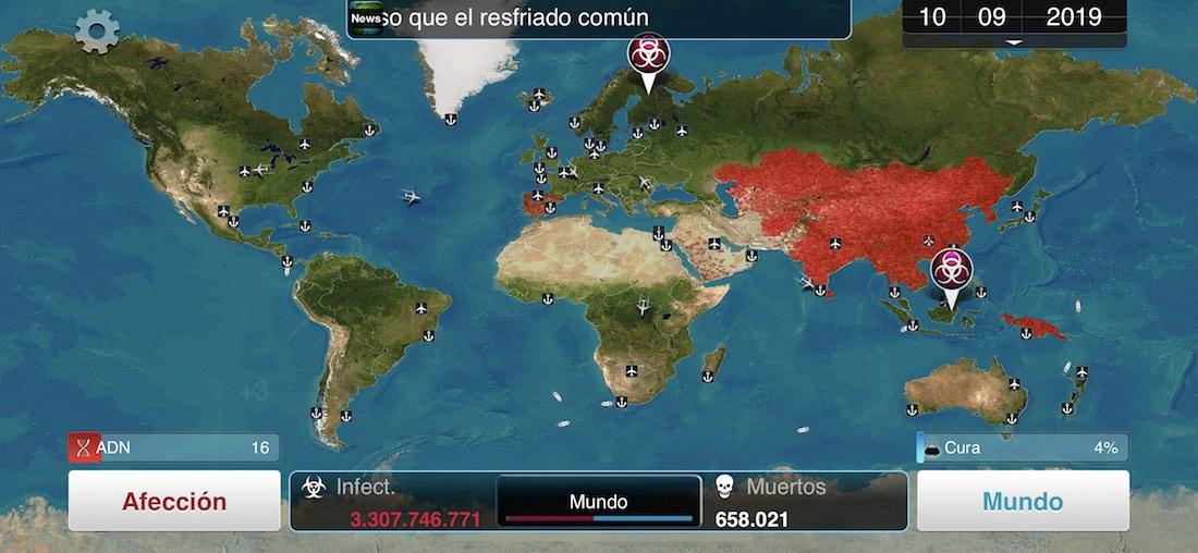 Plague Inc iPhone X