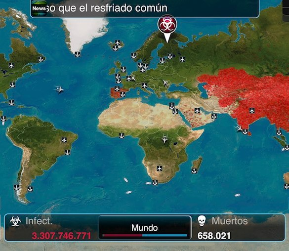 Plague Inc iPhone X