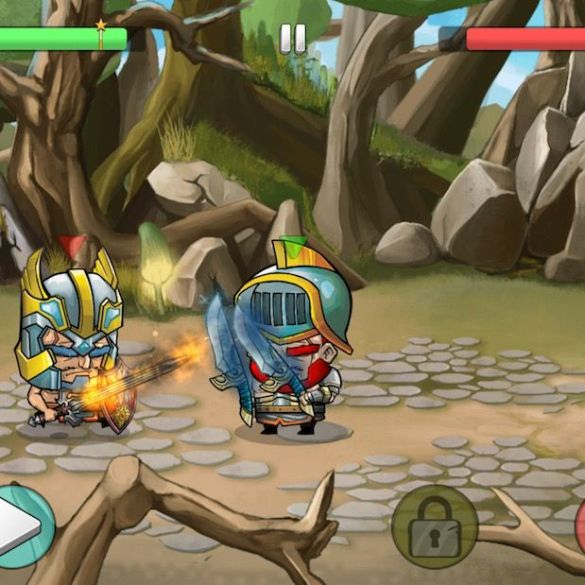 Tiny Gladiators - Lucha de gladiadores en iPhone y iPad