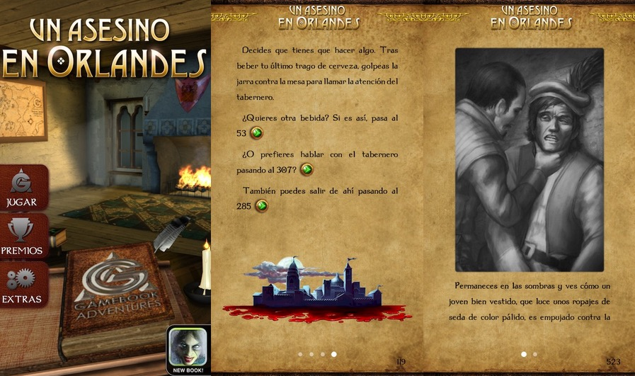 Un asesino en Orlandes libro aventura