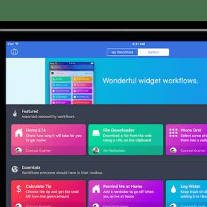 Workflow para iPhone, iPad y Apple Watch