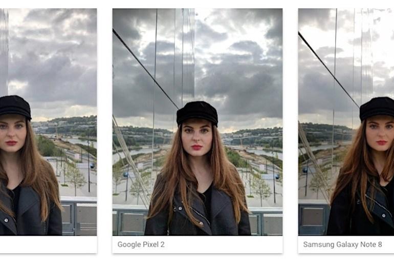 DxOMark comparación cámaras iPhone X - Pixel 2 - Galaxy Note 2
