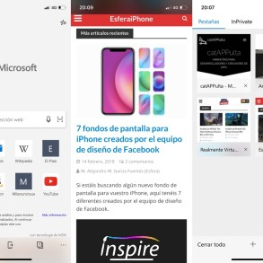 Microsoft Edge para iPhone