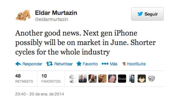 Eldar Murtazin Tweet