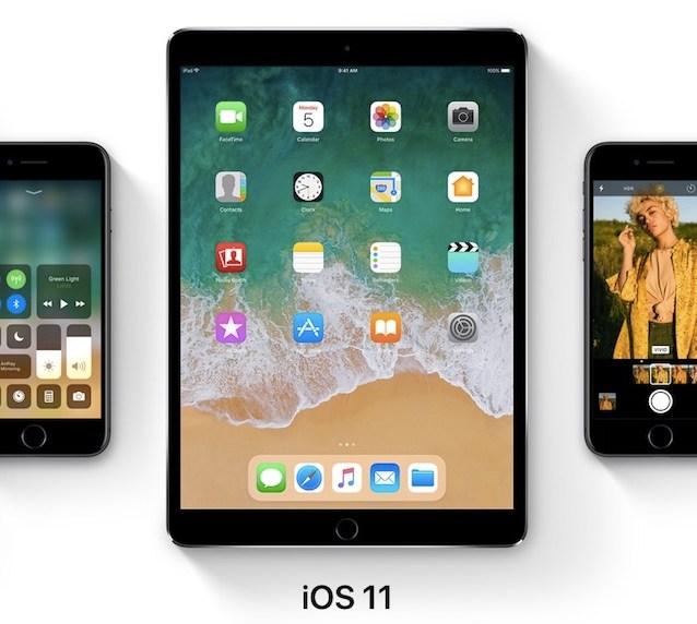 iOS 11 iPhone iPad