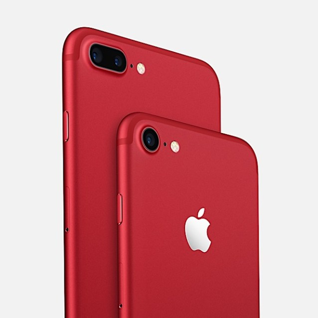 iPhone 7 rojo - product red